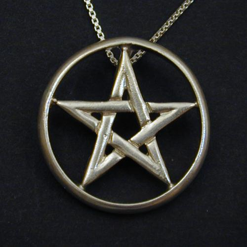 This is a Shining Moon original pentagram design that is heavier than most on the market.